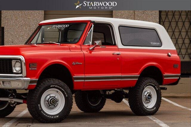 "Pre-Owned 1971 CHEVROLET K5 BLAZER RESTOMOD 4"" LIFT V8"