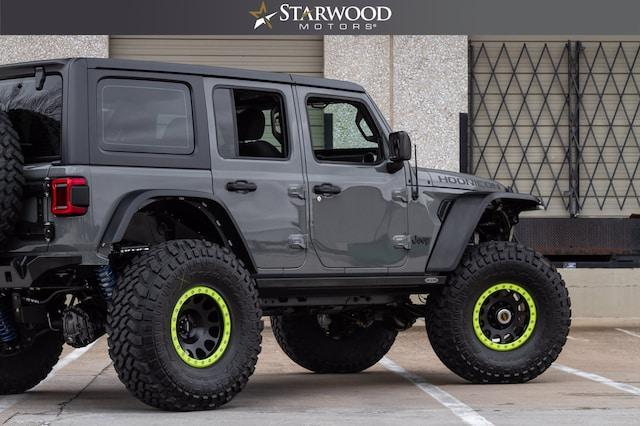 "Pre-Owned 2019 Jeep Wrangler Unlimited DANA 60 5.38 GEARS 40"" NITTO TIRES"