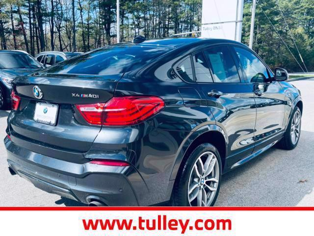Certified Pre-Owned 2018 BMW X4 M40i Sports Activity Coupe