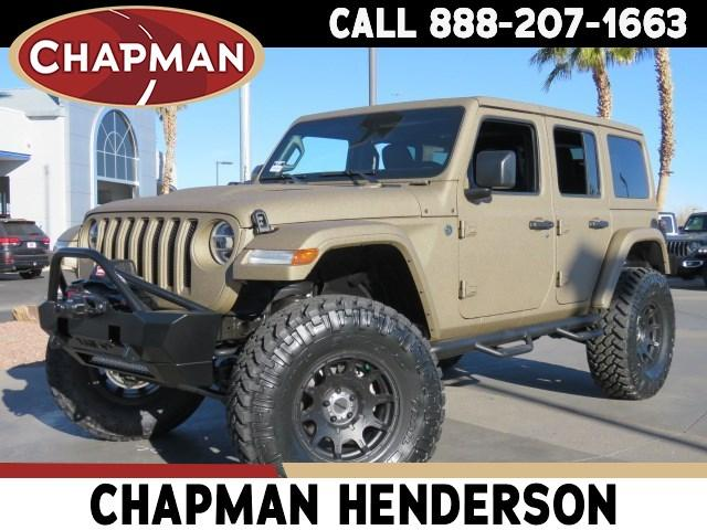 Pre-Owned 2021 Jeep Wrangler Unlimited Rubicon Custom