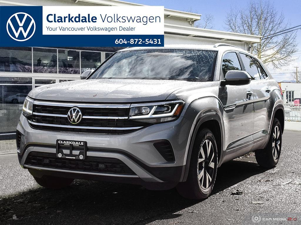 Pre-Owned 2020 Volkswagen Atlas Cross Sport Comfortline 2.0T 8sp at w/Tip 4MOTION AWD