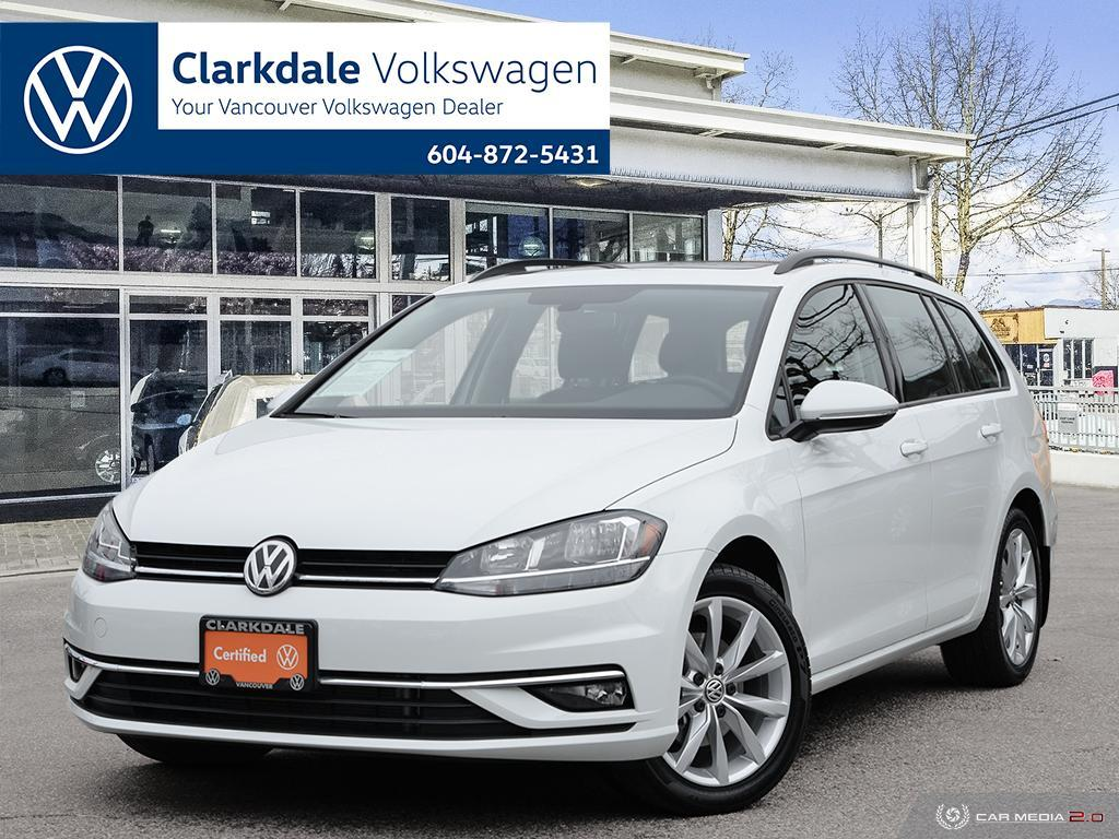 Certified Pre-Owned 2019 Volkswagen Golf Sportwagen 1.8T Highline DSG 6sp at w/Tip 4MOTION