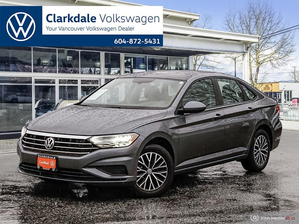 Certified Pre-Owned 2020 Volkswagen Jetta Highline 1.4T 8sp at w/Tip