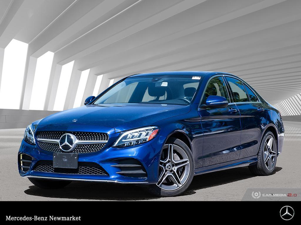 Certified Pre-Owned 2020 Mercedes-Benz C Class C 300 All Wheel Drive 4MATIC® 4-Door Sedan