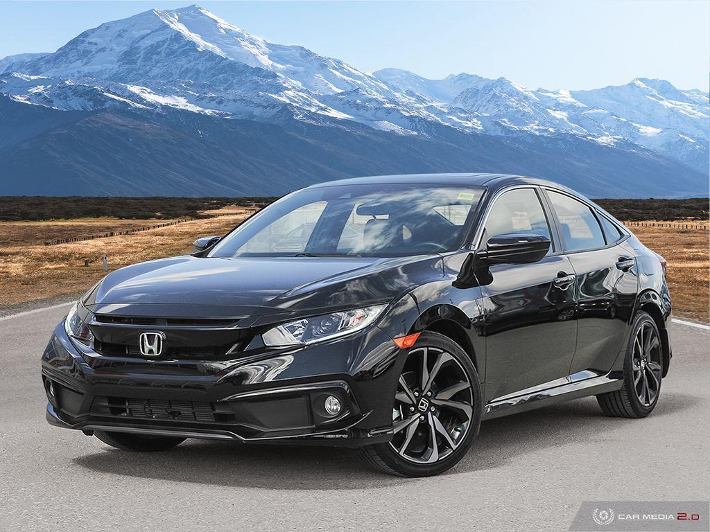 Certified Pre-Owned 2020 Honda Civic Sedan Sport CVT