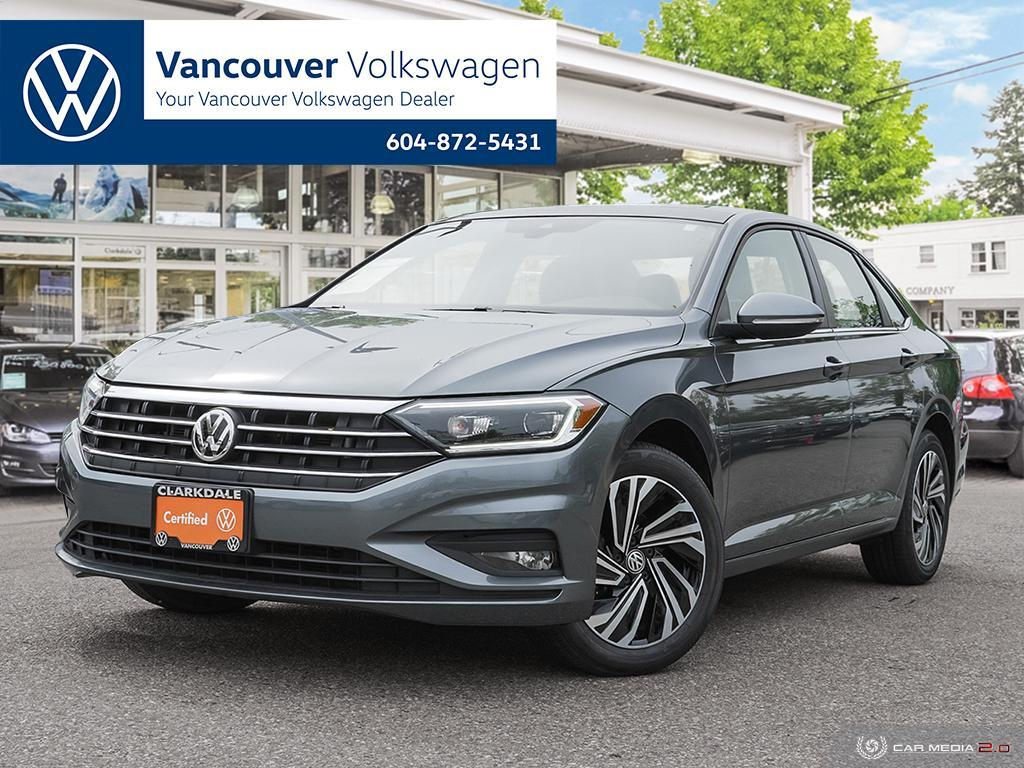 Certified Pre-Owned 2019 Volkswagen Jetta Execline 1.4T 8sp at w/Tip Front Wheel Drive 4-Door Sedan
