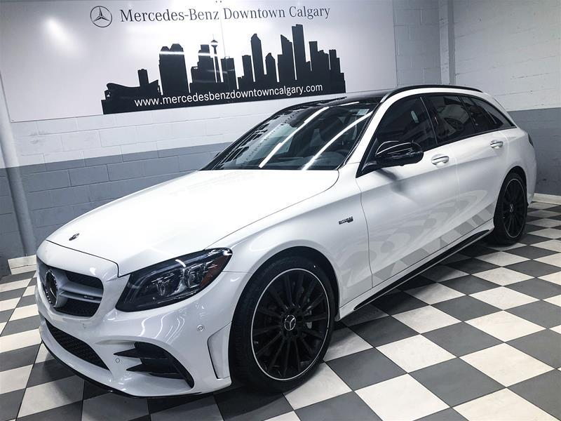 New 2021 Mercedes-Benz C-CLASS C 43 AMG® All Wheel Drive 4MATIC Wagon