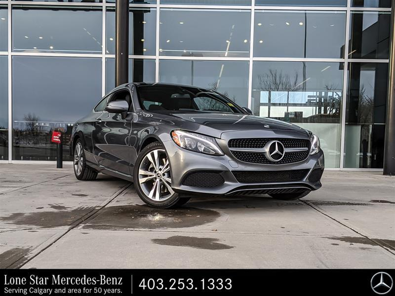 Certified Pre-Owned 2018 Mercedes-Benz C300 4MATIC Coupe