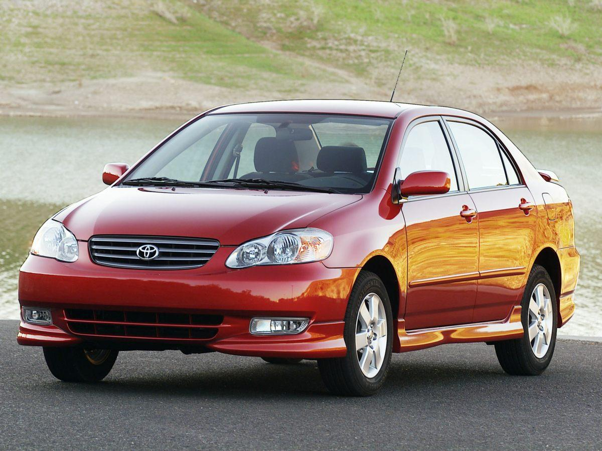 Pre-Owned 2004 Toyota Corolla CE FWD 4D Sedan