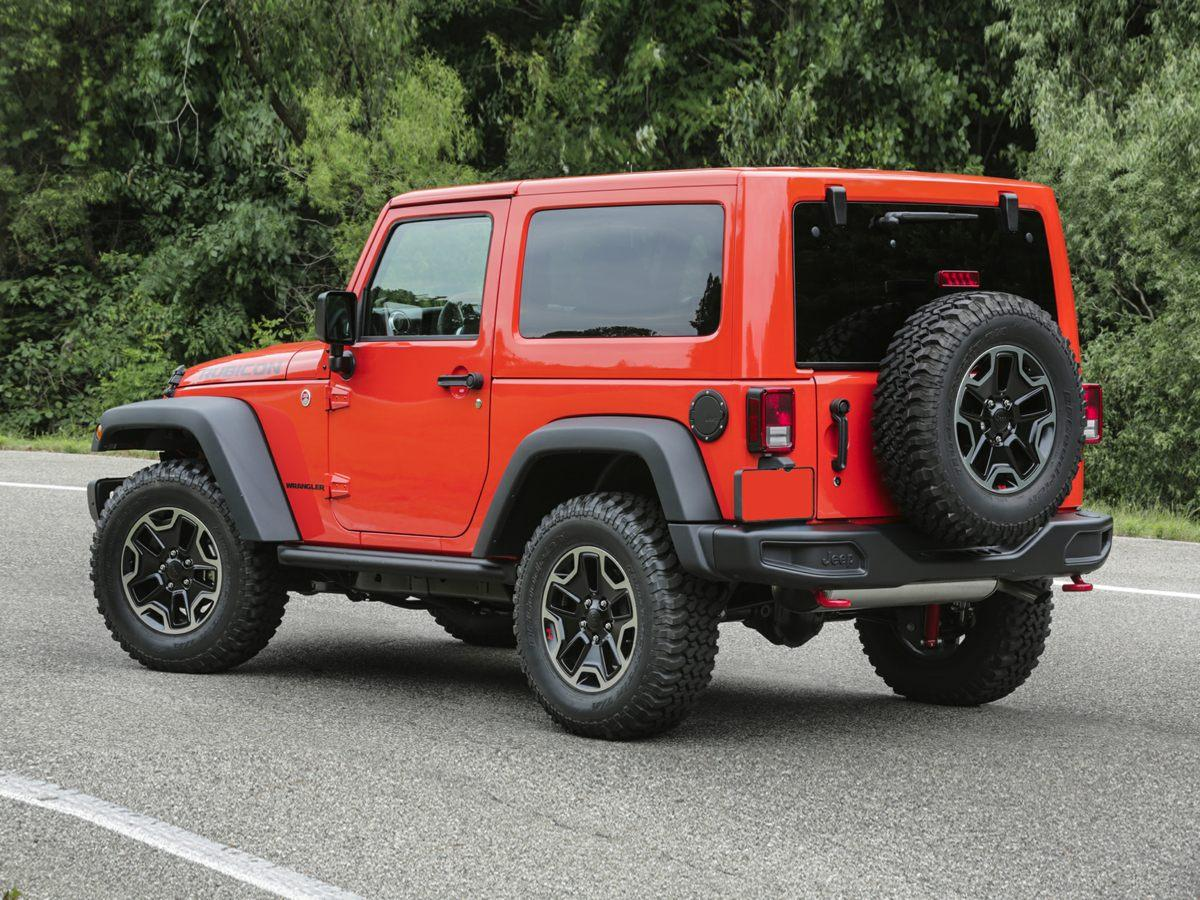 2017 Jeep Wrangler Willys Wheeler