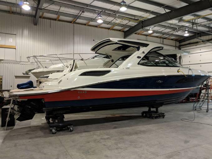 New 2019 SEA RAY SLX 350