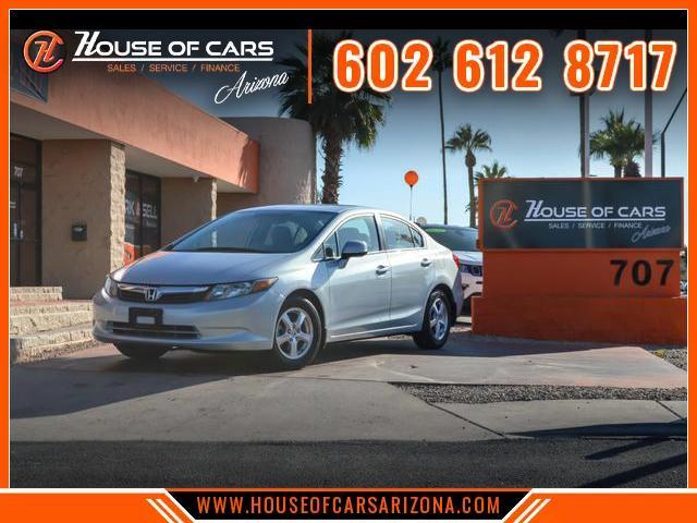Pre-Owned 2012 Honda Civic Natural Gas Sedan 4D