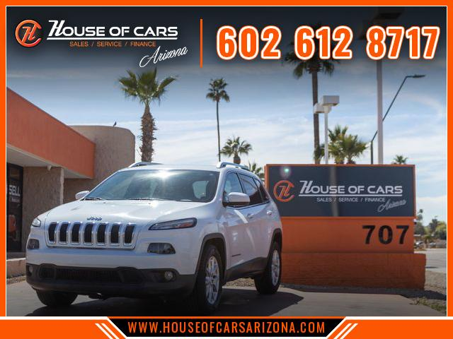 Pre-Owned 2015 Jeep Cherokee Latitude Sport Utility 4D