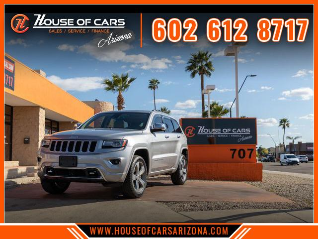 Pre-Owned 2014 Jeep Grand Cherokee Overland Sport Utility 4D