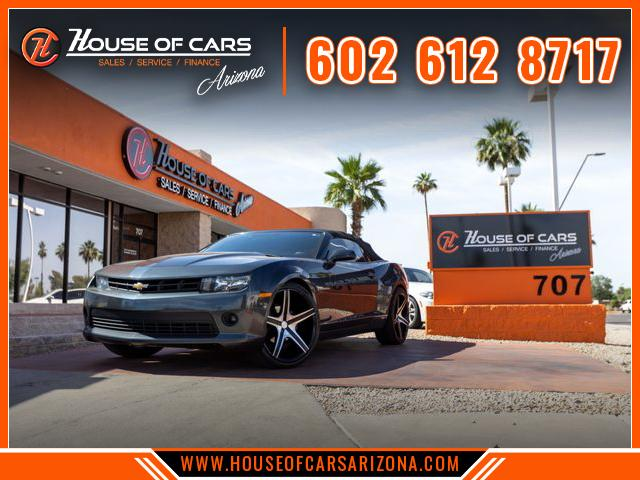 Pre-Owned 2015 Chevrolet Camaro LT Convertible 2D