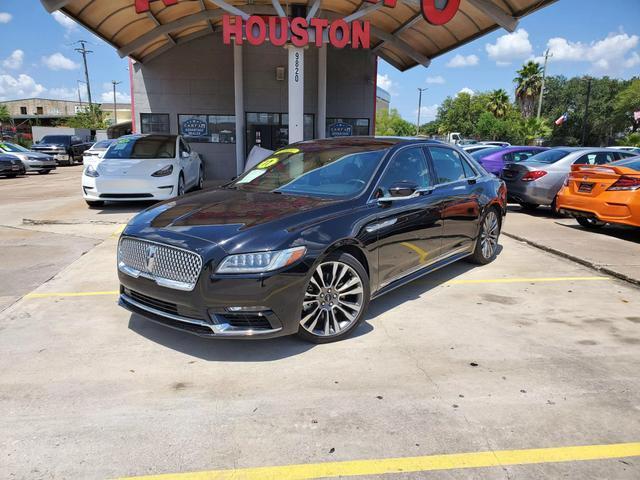 2017 Lincoln Continental Reserve Sedan 4D
