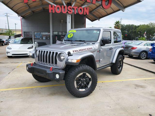 Pre-Owned 2018 Jeep Wrangler All New Rubicon Sport Utility 2D 4WD SUV