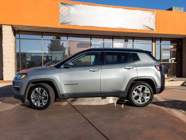 Pre-Owned 2020 Jeep Compass Limited Sport Utility 4D