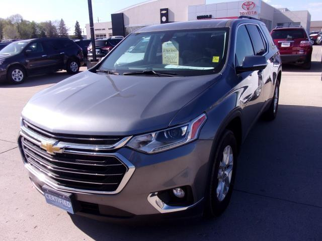 Certified Pre-Owned 2020 CHEVROLET TRAVERSE LT Cloth AWD Sport Utility
