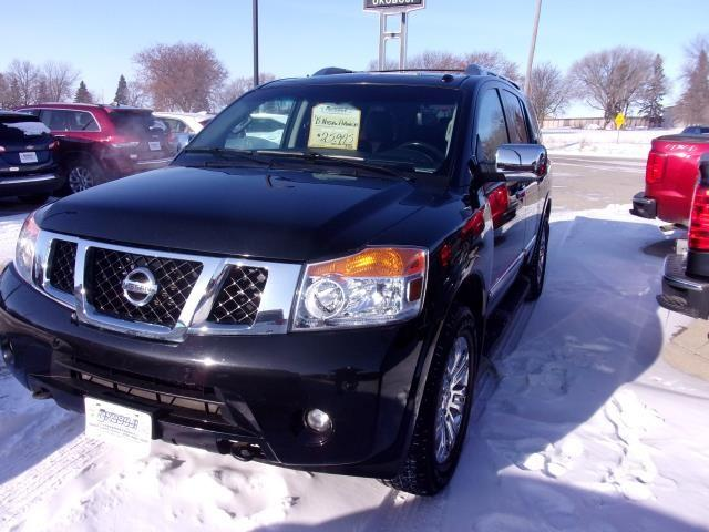 Pre-Owned 2015 NISSAN ARMADA Platinum 4WD Sport Utility