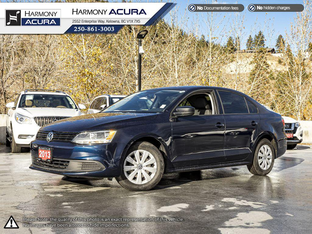 Pre-Owned 2013 Volkswagen Jetta Sedan - BC VEHICLE - NO ACCIDENTS / DAMAGE - BLUETOOTH - NEW FRONT TIRES