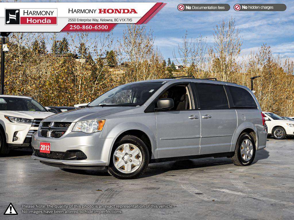 Pre-Owned 2012 Dodge Grand Caravan SE - BC VEHICLE - STOW N' GO SEAT - REAR CLIMATE CONTROLS - WELL SERVICED