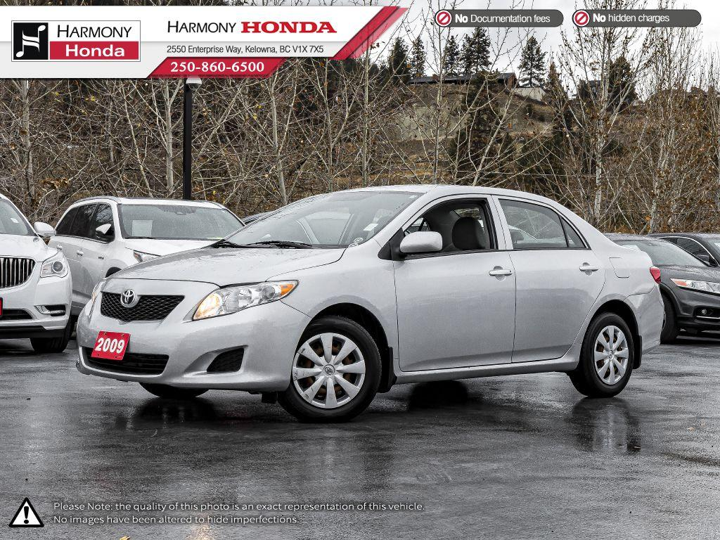 Pre-Owned 2009 Toyota Corolla CE - BC VEHICLE - LOW KM - RELIABLE - GOOD ON GAS