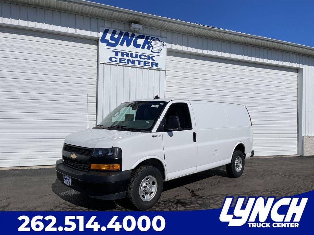 Pre-Owned 2020 Chevrolet Express Cargo Van BASE