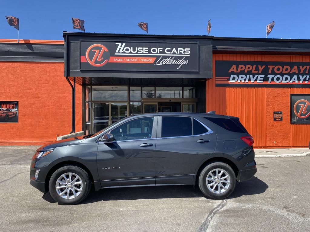 Pre-Owned 2021 Chevrolet Equinox AWD 4dr LT w-1LT